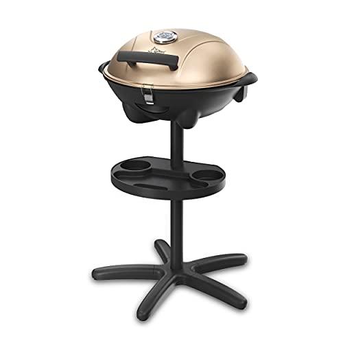 SUNTEC Elektrogrill BBQ-9479 auch als Tischgrill Geeignet   Grill mit Abnehmbarem Deckel und Regulierbaren...
