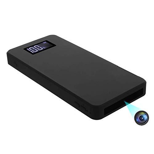 Mini-Kamera 1080P Tragbare Kleine Überwachungskameras 10000mAh Kamera mit Nachtsicht Bewegungserkennung...