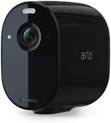 Arlo Essential Spotlight WLAN Überwachungskamera aussen, kabellos, 1080p, Farbnachtsicht, Bewegungsmelder,...