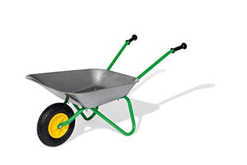 Rolly Toys Metallschubkarre Kinderschubkarre (für Kinder ab 2,5 Jahre, Metallschüssel, belastbar bis 25 kg,...