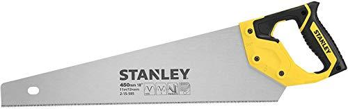 Stanley JetCut feine Handsäge 2-15-595 in 450 mm Länge – Säge für Holz, Kunststoff, Laminat – Mit...