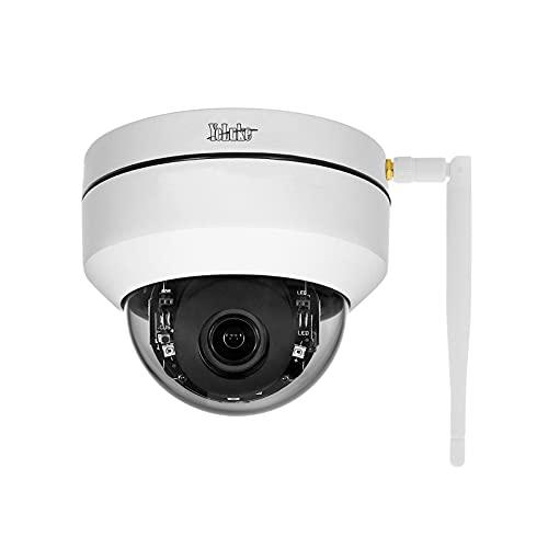 PTZ WiFi IP Kamera 5MP HD Dome Überwachungskameras 4X optische Zoom,Smart 265 Home Security Kamera für...