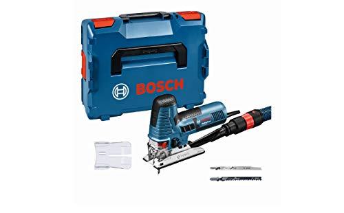 Bosch Professional Stichsäge GST 160 CE (inkl. 3x Sägeblätter für Holz, Absaugadapter, Abdeckhaube, 1/1...