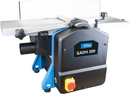 Güde 55440 Abricht- & Dickenhobel GADH 200 (Abrichttische aus Alu-Druckguss, Hobelwellenschutz,...