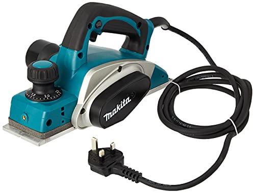 Makita ZMAK-KP0800/2 Hobel HWA 6000 Inox (600980000) Karton, 620 W, 220 - 230 V, Schwarz, Blau, Silber