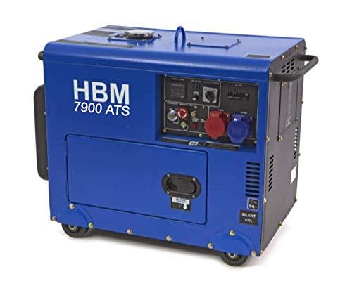 13PS 7900W ATS Diesel 230v 400v Stromgenerator, E-Start, luftgekühlt, Ölmangelsicherung, Überlastschalter,...