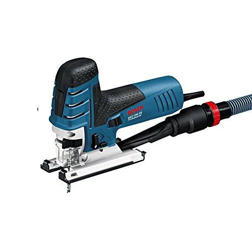 Bosch Professional Stichsäge GST 150 CE (780 Watt, Schnitttiefe Holz max: 150 mm, ohnne Schlauch, im Koffer)
