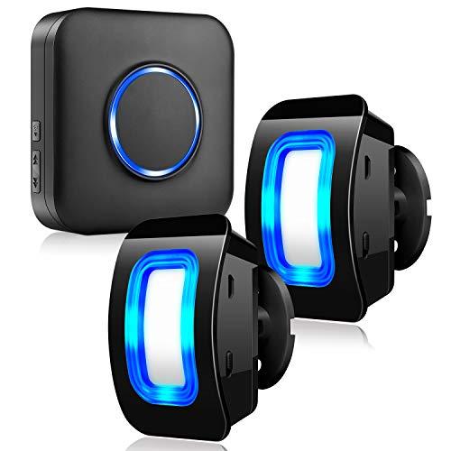 Kabellose Haussicherheits Alarmanlage mit Bewegungsmelder-Alarm Detektor, 2 Bewegungsmelder und 1...