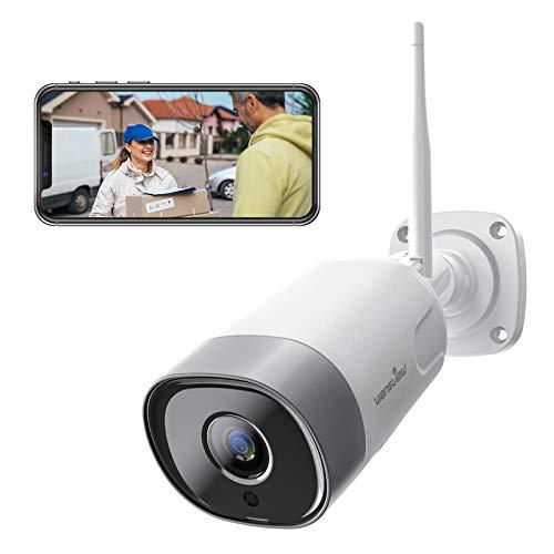 Wansview Überwachungskamera Aussen,WLAN IP Kamera 1080P WiFi IP66 wasserdichte Sicherheitskamera mit...
