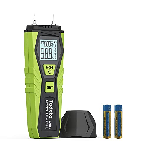 Feuchtigkeitsmessgerät, Tadeto Digital Holzfeuchtemessgerät Holz Feuchtigkeits Detector mit...