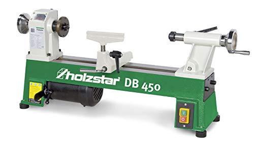 Holzstar 5920450 Kleine Walzmaschine für Holzdrehmaschine DB