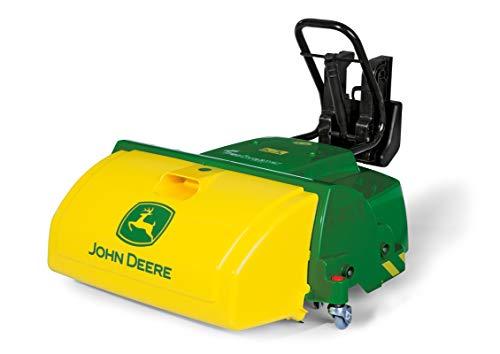 Rolly Toys 409716 rollyTrac Sweeper John Deere, Kehrmaschiene für Traktor rollyJunior, rollyFarmtrac,...