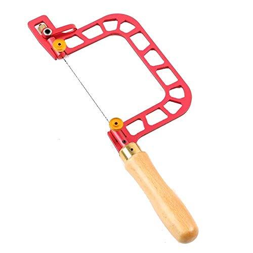 ZXCVB Saw-Rahmen-Kit, Sägemaßrahmen, U-förmige Handsäge mit Hebelspannungssäge Handwerkzeug...