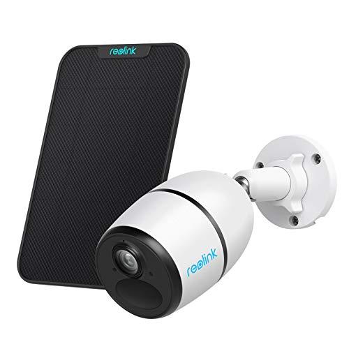 Reolink Go 3G/4G LTE Überwachungskamera Aussen Akku mit Solarpanel, 1080p Kabellose IP Kamera Outdoor mit PIR...