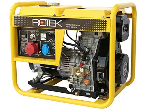 Rotek Diesel Stromerzeuger GD4-3-6000-5EBZ (5,5 kVA / 400V 50Hz 3-phasig)