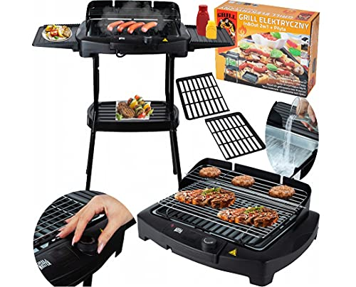 Livemore 'Gril-Master' BBQ Barbeque Elektro-grill Cool-Touch Elektrischer Grill Elektrogrill Balkon Tischgrill...