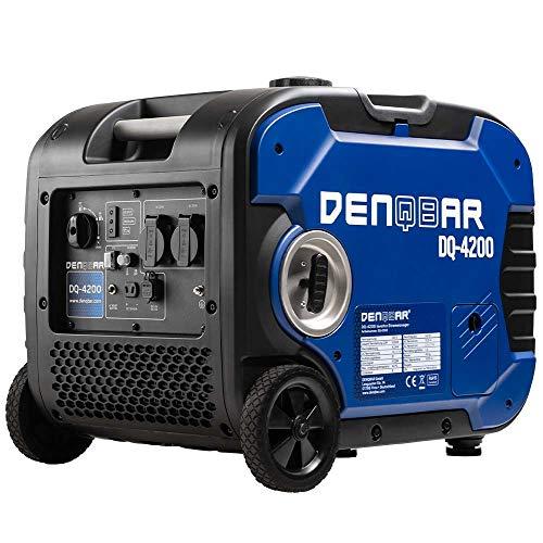 DENQBAR 4200 W Inverter Stromerzeuger Notstromaggregat Stromaggregat Digitaler Generator benzinbetrieben...