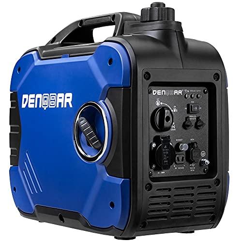 DENQBAR 2000 W Inverter Stromerzeuger Notstromaggregat Stromaggregat Digitaler Generator benzinbetrieben...